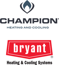 Champion and Bryant Logos